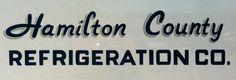 Design Fodder (Hamilton County Refrigeration Co. hand-painted...) #painted #hand #typography
