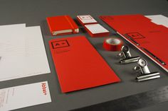 A + Self-Branding #red #a+ #business #branding #card #abbas #lca #behance #identity #mushtaq #logo #personal