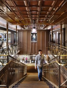 Historic Bank Building Converted into Modern Office Space