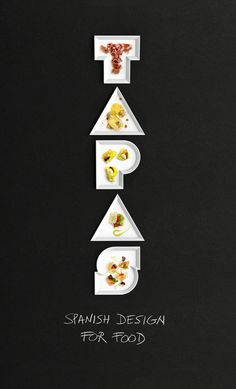 Tapas. Spanish Design for Food (Identity, Exhibitions, Print) by Lo Siento Studio, Barcelona #tt
