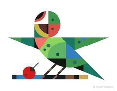 Geometric animals EN | TheMAG #illustration #animal #geometric