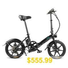 FIIDO #D3S #Folding #Electric #Bike #Moped #Bicycle #Variable #speed #Shifting #Version #16in #Wheel #From #Poland