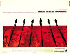 Extra Large Movie Poster Image for The Wild Bunch #wild #movie #old #school #the #cinema #silhouette #poster #bunch #sketch