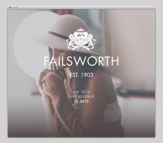Failsworth 1903 #website #layout #design #web