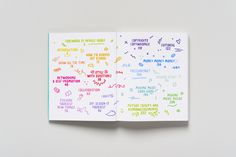 Kate Moross: Make Your Own Luck #moross #contents #kate
