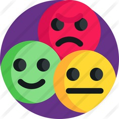 See more icon inspiration related to feedback, review, reviews, ui, evaluation, chat bubble, chat bubbles, smileys, rating, value, users, conversation, angry, sad, communications, social media, interface, happy and smiley on Flaticon.