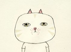 Studio Violet #illustration #studioviolet #cat