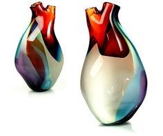 Friday, 19 February 2010 #glass #vase