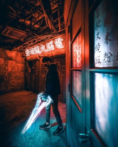 Cinematic and Moody Urban Photography by Limon Fan