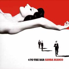 4 To The Bar Samba Bianco (Monoscope) #graphicdesign