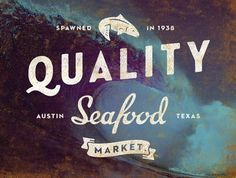 All sizes | Quality Seafood logo | Flickr - Photo Sharing! #identity