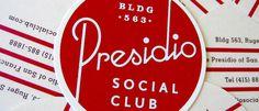 Presidio #logo #identity #typography