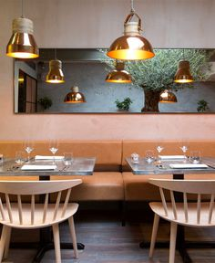 Restaurant Decor by Kinnersley Kent Design - #architecture, #decor, #interior, #restaurant,
