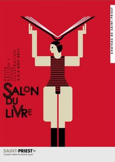 milimbo #red #salon #du #illustration #livre #poster #typography