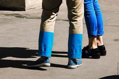 STREETFSN #fashion #blue #pants