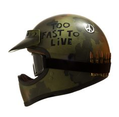 Full Metal Helmet #moto