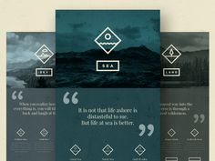 EVER WONDER™ // Web layout #icon set #icons #icon #vector #logo #texture #branding #web #forest #ocean #mountains
