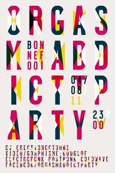 kouglof - typo/graphic posters #poster #typography