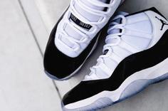 "Air jordan 11 concord ""white/black-concord"" biggest sneaker release of all time drop breaks record"