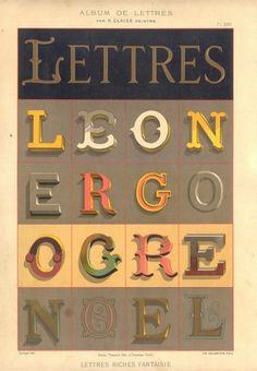 Lettres #typography