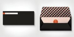 Marta Harding Designs #logo #pattern #envelope