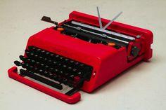 she loves me not #olivetti #1969 #design #product #valentine #typewriter