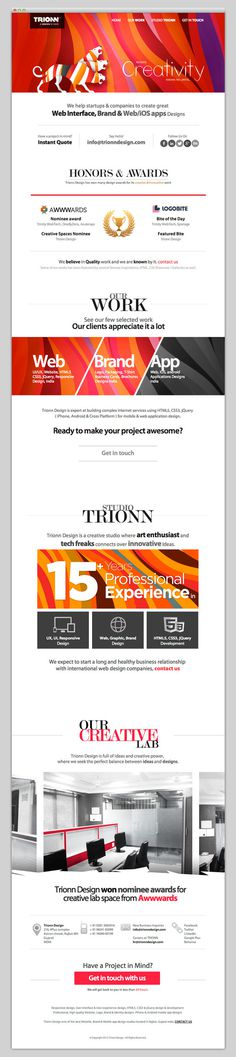 Trionn Design #website #layout #design #web