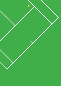 Poster #minimalism #olympics #tennis #poster