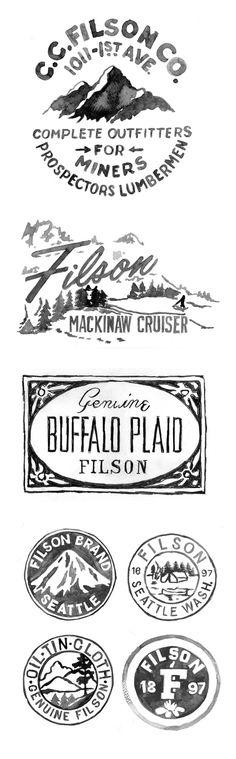 Filson Logo graphics #logo #filson #graphics