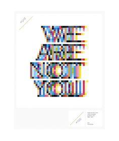 wearenotyouupdates #pixel #poster