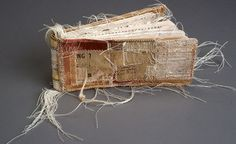 fullbloom:nnLisa Kokin :: Portfolio :: Mixed Media Booksn #destruction #books #vintage