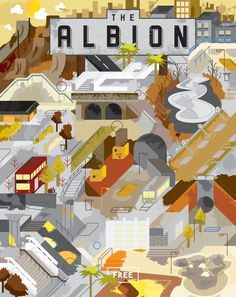 Jeffrey Bowman | Handsome Frank Illustration Agency #bowman #illustration #jeffrey #texture