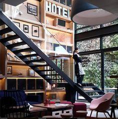 Click Clack Hotel Bogota #hotel #colombia #interios #bogota