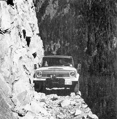 thewraithrising:Don't worry, we can make it. #car #cliff