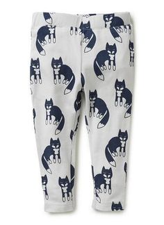 Seed Heritage #clothing #pattern #fox #trousers #pants #fashion