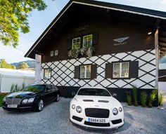 Bentley Motors has opened a mountain lodge in Kitzbuhel, Austria, and is now accepting private bookings #Kitzbuhel #Austria