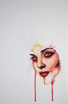 W. Graphic Art #illustration #portrait #watercolor #painting