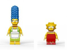 Lego Simpsons Set1 #simpsons #toys #simposons #lego