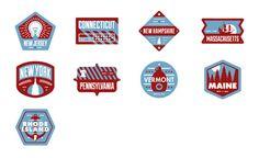 Northeast Badges