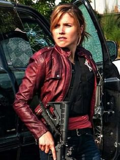 July 8 is #SophiaBush's birthday. To help you celebrate, we put together this #slideshow of some of her greatest #looks and Her #ChicagoPD Maroon #LeatherJacket.