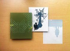 Calm: Folio Back w/Prints | Flickr - Photo Sharing! #print #letterpress #screen #printing #lett