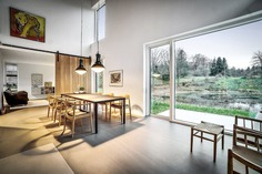 dining room, Denmark / N+P Architecture