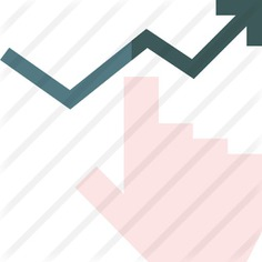 See more icon inspiration related to business and finance, hands and gestures, bar chart, line graph, growth, comparative, stats, benefits, report, statistics, diagram and arrow on Flaticon.