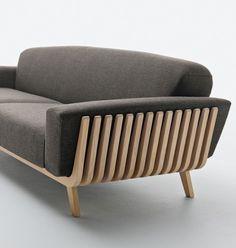 Hamper Sofa by Montanelli + Riva #minimal sofa #minimalist sofa