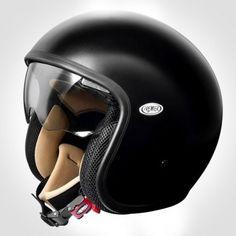 premier-jet-vintage-matt-black-1.jpg (489×489) #helmet #motorcycle