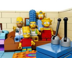 Lego Simpsons Set9 #simpsons #toys #simposons #lego