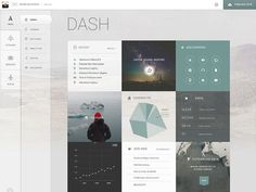2.0 Dash Light Theme by Daniela Meyer #dash