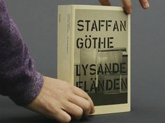 Staffan Göthe: Lysande Eländen / Jonas Williamsson / Graphic Design #williamsson #jonas