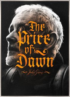 """The Price of Dawn – Book Cover"" by Mirco Monsees #typography #lettering #book cover #art"