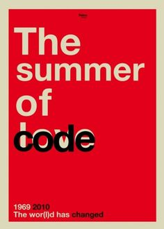 the summer of code | Flickr - Photo Sharing! #print #1969 #world #the #2010 #changes #has #typography